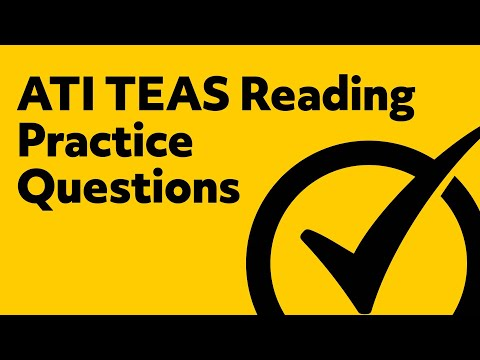 Free TEAS Reading Practice Test