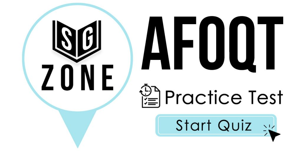 Click here to start our AFOQT Practice Test