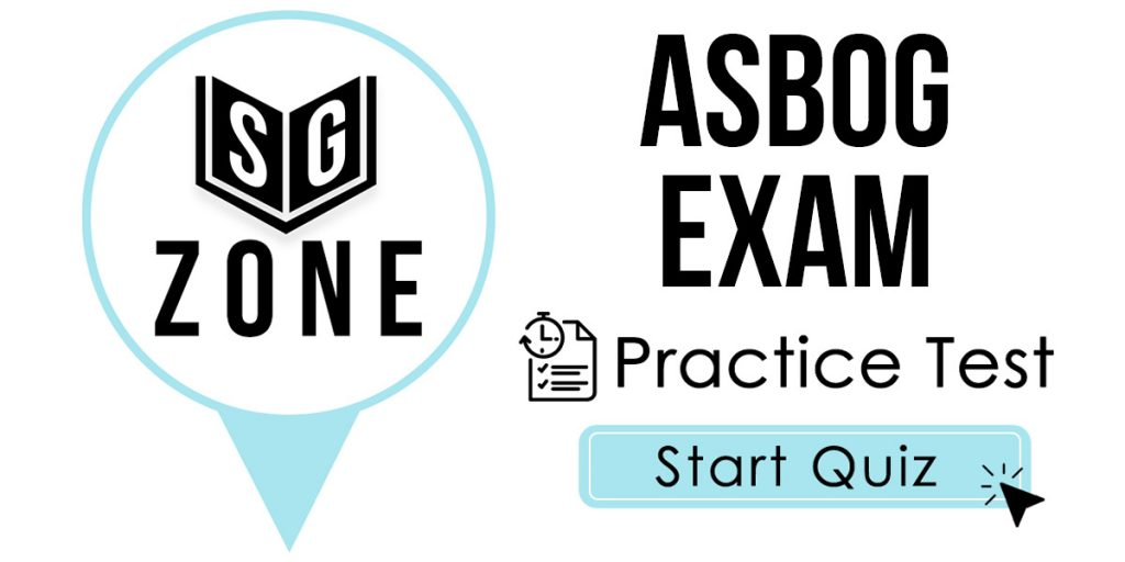 Click here to start our ASBOG Exam Practice Test