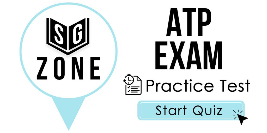 Click here to start our ATP Exam Practice Test