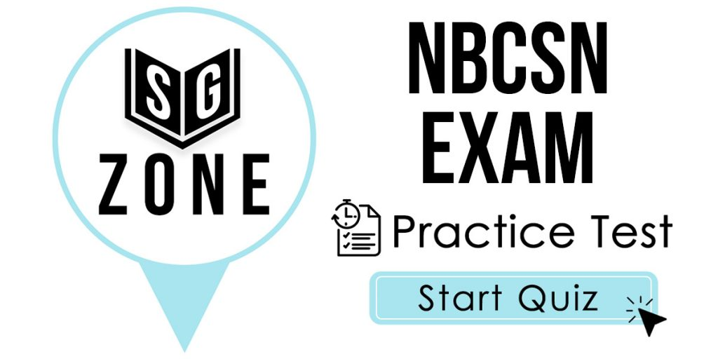 Click here to start our NBCSN Exam Practice Test