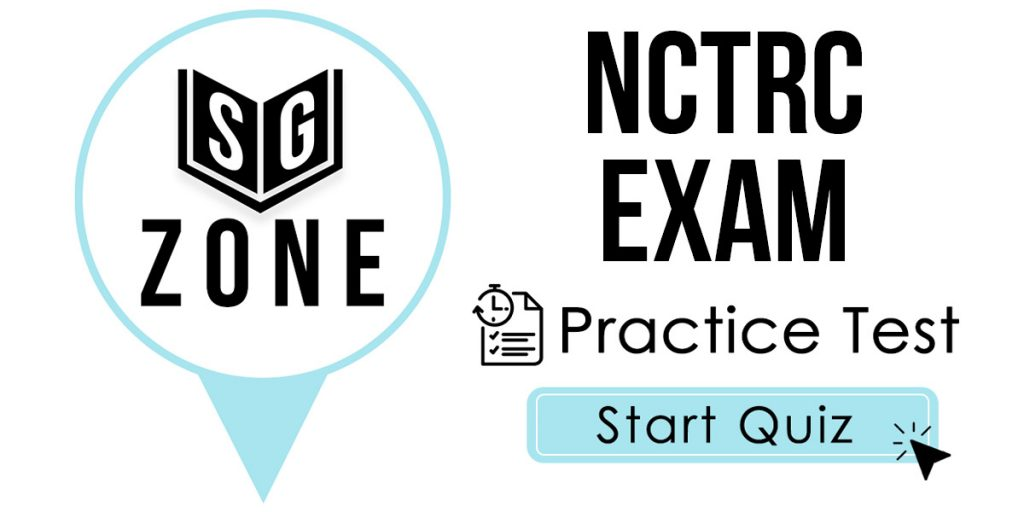 Click here to start our NCTRC Exam Practice Test
