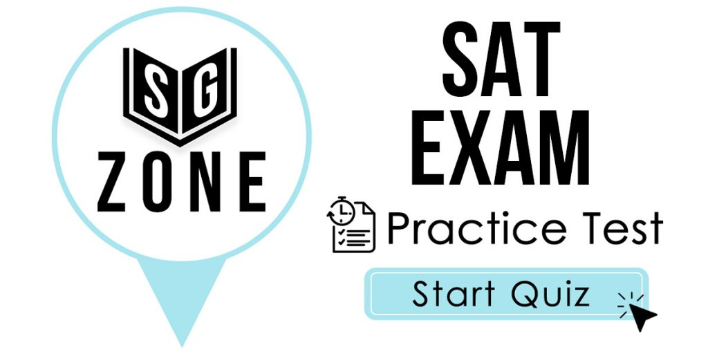 Click here to start our SAT Exam Practice Test