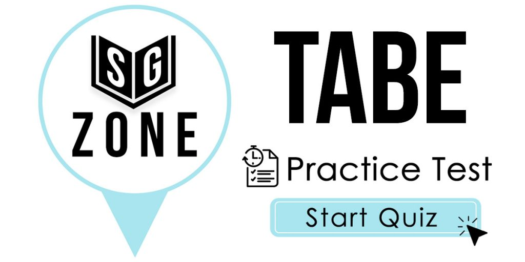 Click here to start our TABE Practice Test