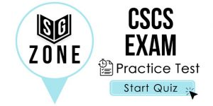 Click here to start our practice test for the CSCS