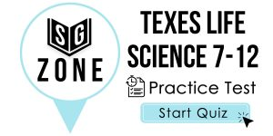 Click here to start our practice test for the TExES Life Science 7-12 Test