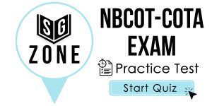 Click here to start our practice test for the NBCOT-COTA Exam