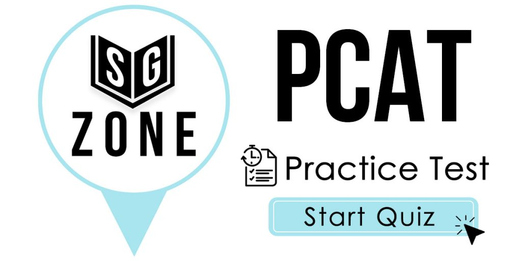 Click here to start our practice test for the PCAT