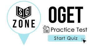 Click here to start our practice test for the OGET