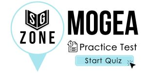 Click here to start our practice test for the MoGEA