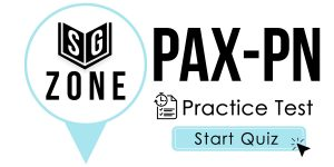 Click here to start our practice test for the PAX-PN Test