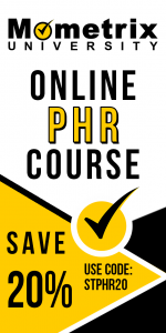 Get 20% off on the Mometrix University PHR online course