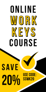 Online WorkKeys course ad